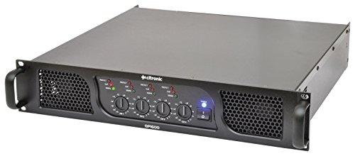 Citronic QP1600 Quad Power Amp 4 x 400W 400w 4 Ohm Subwoofer
