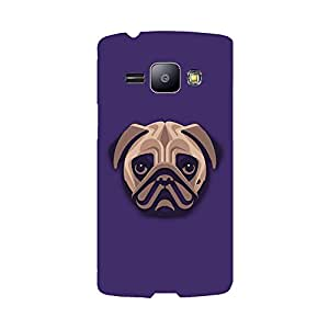 Phone Candy Designer Back Cover with direct 3D sublimation printing for Samsung Galaxy J1