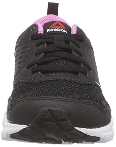 Reebok - Rush, Chaussures De Course À Pied Pour Femme Black (noir / Blanc / Icono Pink / Gravel)