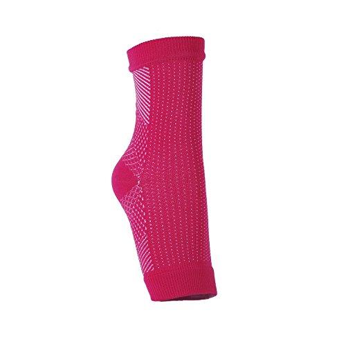 KUNFO 2 Paar Kompressionssocken / Kompressionsstrümpfe für Damen und Herren - Fußbandage für optimal