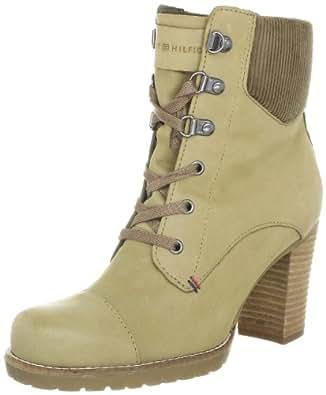 Tommy Hilfiger WILMA 4 FW56814826, Damen Fashion Halbstiefel & Stiefeletten, Beige (MISTRY TAUPE 287), EU 42
