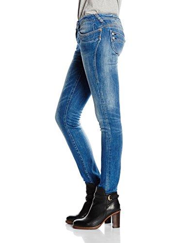 Herrlicher Piper Slim Denim Powerstretch - Slim - Femme Bleu - Blau (bliss 6340)