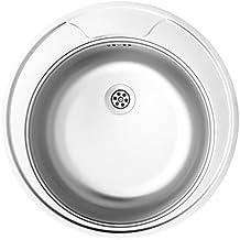 Spülbecken rund edelstahl matt  Suchergebnis auf Amazon.de für: runde spüle