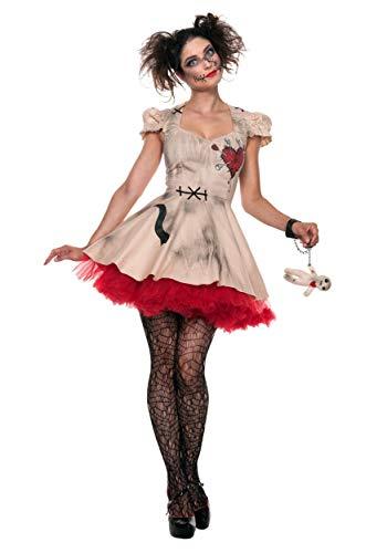 Women's Plus Size Voodoo Doll Fancy dress costume - Voodoo Doll Kostüm