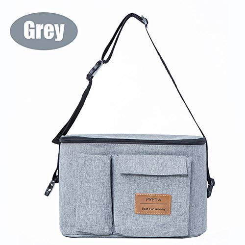 ef5cb6a7d11e ENLAZY Baby Stroller Bag Baby Stroller Organizer Baby Carriage Pram  Stroller Accessories Bag Suitable For Baby Buggy and Bike,Grey
