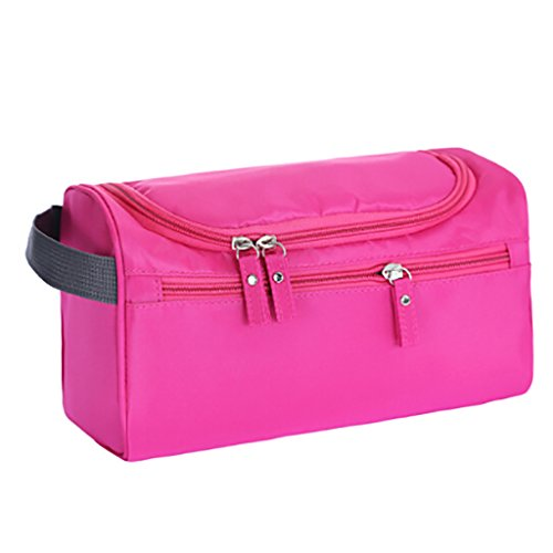 CLOTHES- Pacchetto di immagazzinaggio impermeabile del pacchetto di trasporto Sacchetto cosmetico portatile di lavata portatile e maschio della femmina ( Colore : Nero ) Rosa