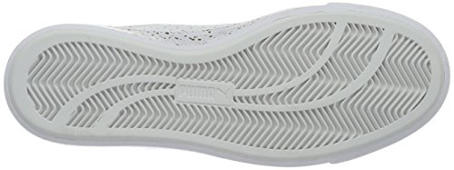 Puma Court Star Vulc Remast, Baskets Basses Femme Blanc - Weiß (puma white-puma Black 01)