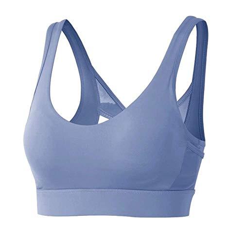 JAZ6 Frauen-BH 2er Pack Frauen-Sport-BH Atmungsaktiver Fitness-BH