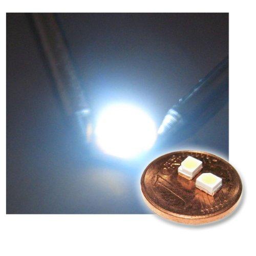 "50 SMD LED 3528 ultra-weiß Typ \""WTN-PLCC2-1300uw\"""
