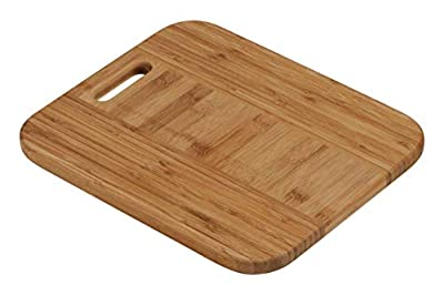 Premier Housewares Chopping Board with Handle - Bamboo