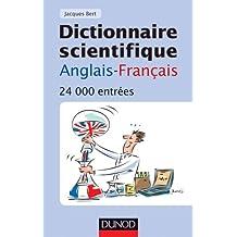 Dictionnaire scientifique anglais-français - 4ème édition - 24 000 entrées