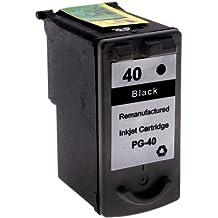 7dayshop REMANUFACTURADO PG-40negro cartucho de tinta para Canon
