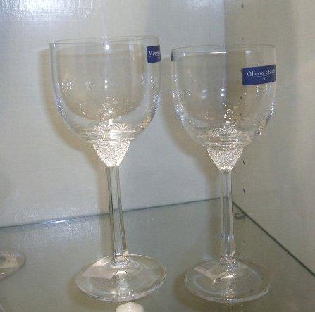 Villeroy boch Set 12 pièces Octavie (6 verres à eau 196 mm 0,28lt + 6 verres à vin 186 mm 0,23L