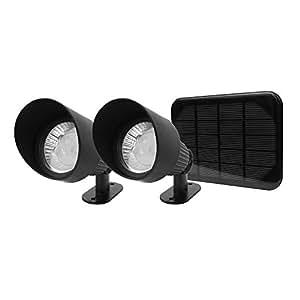 Selene Solar Landscape Spotlights set of 2