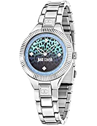 Just Cavalli Damen Uhrenbeweger Collection JUST INDIE Edelstahl silber R7253215505