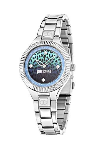 Just Cavalli Time Reloj Analógico para Mujer de Cuarzo con Correa en Acero Inoxidable R7253215505