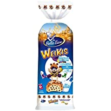 Weikis Chocolate con Leche 6 - Paquete de 6 x 42 gr - Total: 252