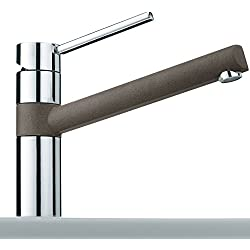 Franke miscelatore monocomando rubinetto 340 Umbra siligranito FRAGRANITE grigio