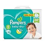 Pacco gigante di Pampers Baby Dry, misura 6, 92 pannolini