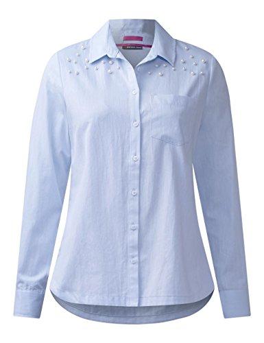 Street One Damen Bluse Blau (Sailing Blue 10763)