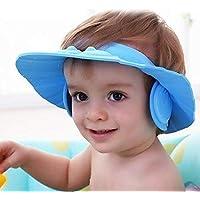 ALPHA Baby Shower Cap (Pack of 2) Wash Hair For Children Baby Eye Ear Protector Adjustable Leaves Shape Bathing Shower…