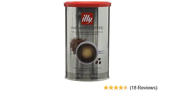 Illy Instant Coffee 100 G Pack Of 6
