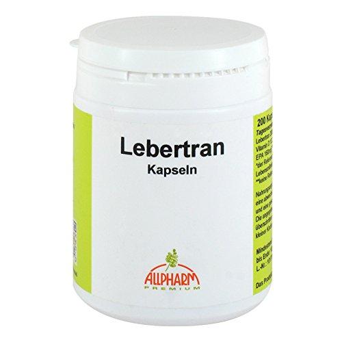 Lebertran Kapseln 500 mg 200 stk