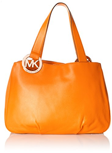 Michael Kors Fulton Large East West Tote in Vintage Yellow Leather