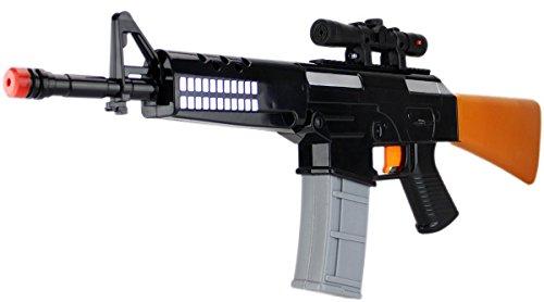 KonShop XXL Hyper-Elektro Wassergewehr Wasserpistole ca.62cm 0,4 Tank ELEKTRISCH