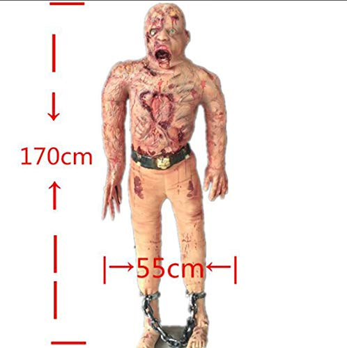 HJJHJ Halloween Haunted Haus Dekoration Terror Requisiten Umwelt Schutz Emulsion Zombie Mumie