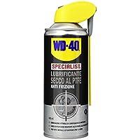 WD-40 SPECIALIST - Lubrificante Secco Spray al PTFE  Anti Frizione con Sistema Doppia Posizione - 400 ml