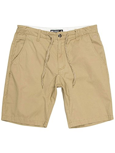 Element Chino Shorts - Element Cadet Chino Short - Canyon Khaki (Khaki Shorts Element)