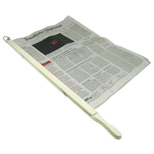 Zeitungshalter Landhausstil Cremeweiss