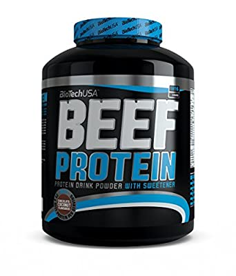 Biote Chusa Beef Protein, Chocolate Coconut, 1816g from BiotechUSA