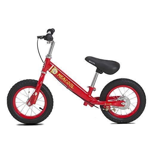 Dfghbn Kinder Balance Auto Zweiräder Fahrrad Metallrahmen Ohne Pedal Slide Auto Kinder 2-6 Jahre Altes Baby Mit Bremsen Luftreifen Outdoor Sports Übung Balance Fahrrad Kinderfahrräder -