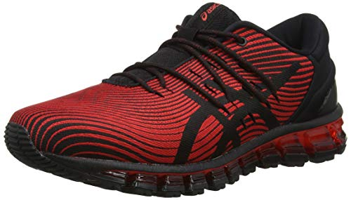 buy online 22d13 7d7eb 4, ASICS Gel-Quantum 360 4, Chaussures de Running Homme, Multicolore (Red  Alert