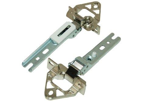 2 Artikel Kit (Bosch Siemens Kühlschrank Gefrierschrank Tür Scharnier Kit. Original Teil Nr. 2285121)