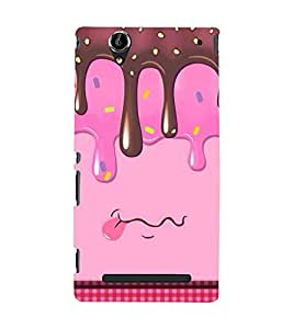 Unique Print Back cover for sony Xperia T2 Ultra