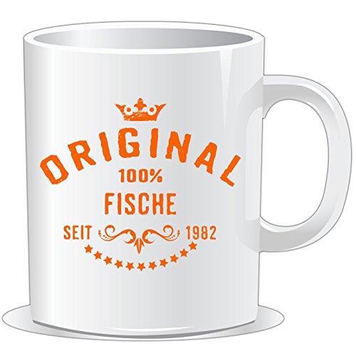 41swzrKTTOL Sternzeichen Fische Kaffeetasse Becher Tasse