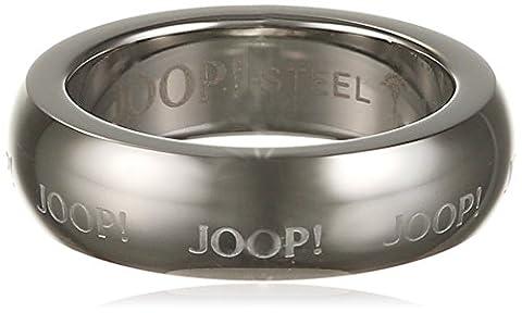 Joop Unisex-Ring LOGO SIGNATURE Edelstahl Gr. 63 (20.1) - JPRG10612A200