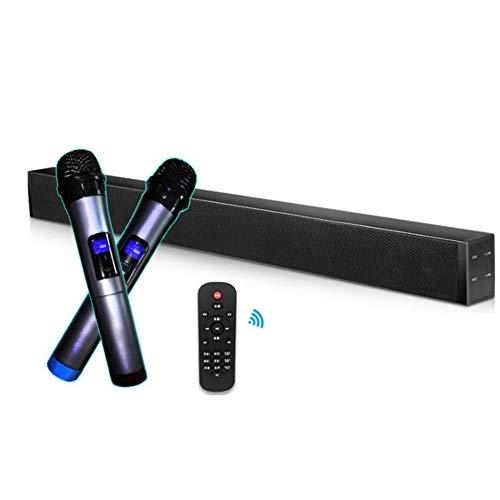 Barra sonido karaoke inalámbrico 60W alta potencia