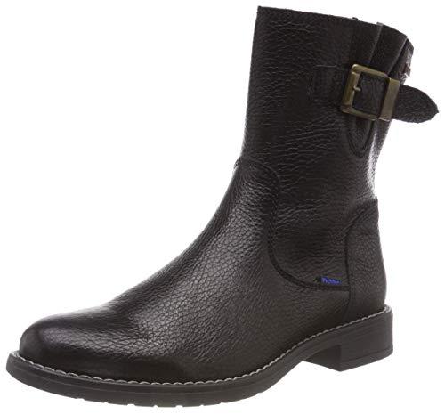 Richter Kinderschuhe Mädchen Mary Biker Boots, Schwarz (Black 9900), 40 EU
