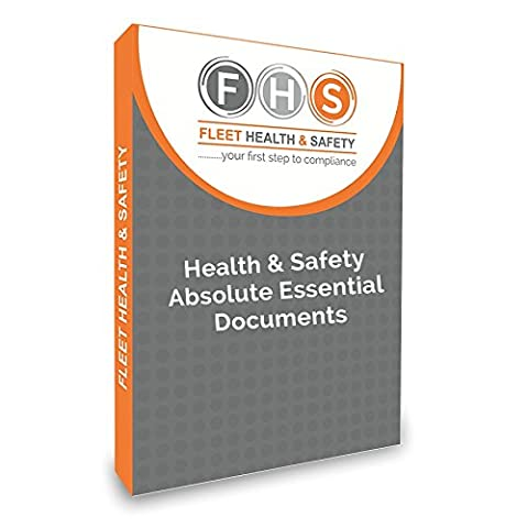 Absolute Essentials Health & Safety Document Pack on USB Flash Drive