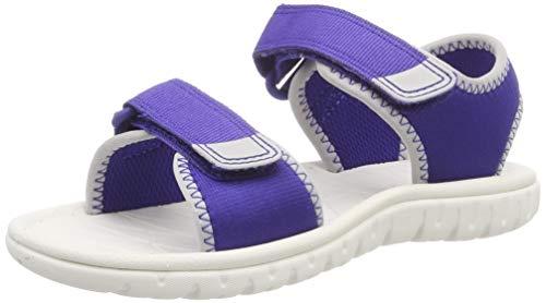 Clarks Boys' Surfing Tide K Sling Back Sandals, (Blue Synthetic-), 11.5 UK