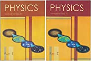 NCERT Physics Textbook for Class 12 - Part 1 & 2 - 12089 & 12090 (Set of