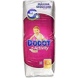 Dodot - Activity Pañales para bebés - Talla 4, 9-15 kg - 50 unidades