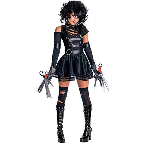 Kostüm Halloween Black Devil - Halloween Black Devil Weiblichen Scheren Hand Bühne Cosplay Einheitliche Halloween Kostüm, Schwarz, XL