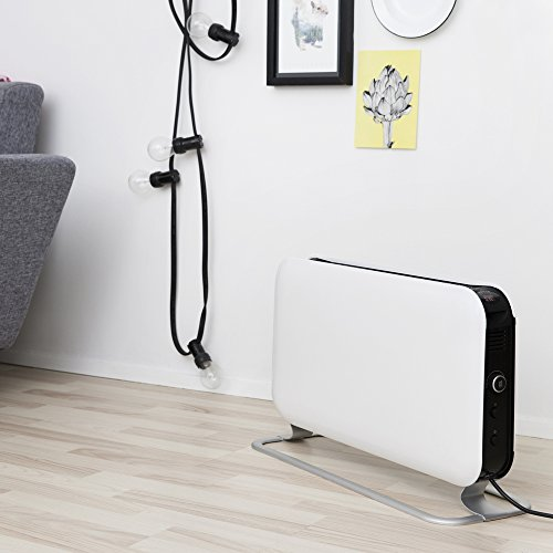 "41sx0UrI9TL. SS500  - 2000W ""Mill"" Designer Electric Free Standing Horizontal Convector Heater - 620mm(w) x 335mm(h)"