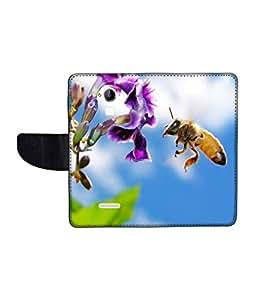 KolorEdge Printed Flip Cover For CoolPad Dazen Note 3 Multicolor - (1479-55KeMLogo10438DazenNote3)