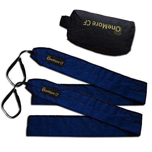 Muñequeras de tela ajustables One More CF | Strength Wrist Wraps para